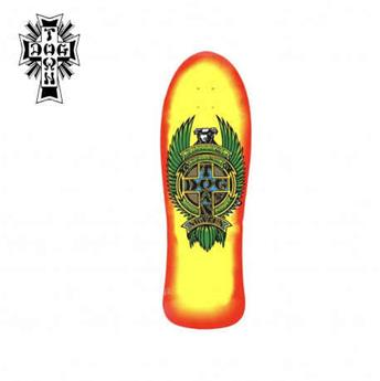 Deck skateboard DOGTOWN x SUICIDAL cruisers eric dressen mini yellow red fade 8.5