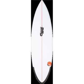 Surf shortboard DHD travel serie sweet spot fcs