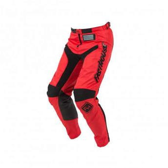 pantalon FASTHOUSE enfant moto grindhouse red