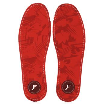 Semelle FOOTPRINT INSOLE KINGFOAM FLAT 5MM RED CAMO