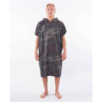 Poncho RIPCURL mix up hooded towel 60 GREEN