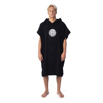 Poncho RIPCURL wet as hooded towel 90 BLACK