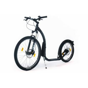 Trottinette Footbike KICKBIKE Cross Max 20HD Disc Hydraulique Noir