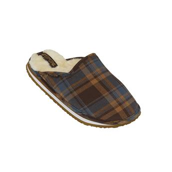 Chausson pantoufle COOL home men plaid