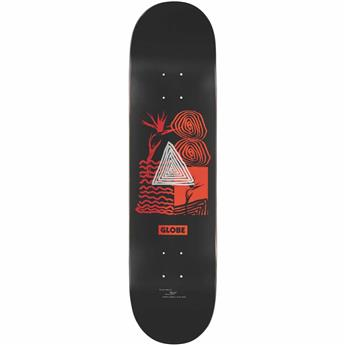Plateau skate GLOBE G1 Fairweather Black/Red 8.125