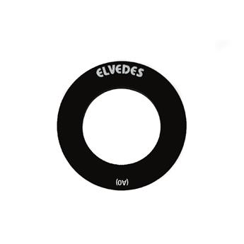 ELVEDES 1 Pair bearingcaps 40mm NO edge Shim. (p.v. Trek) TYPE A0